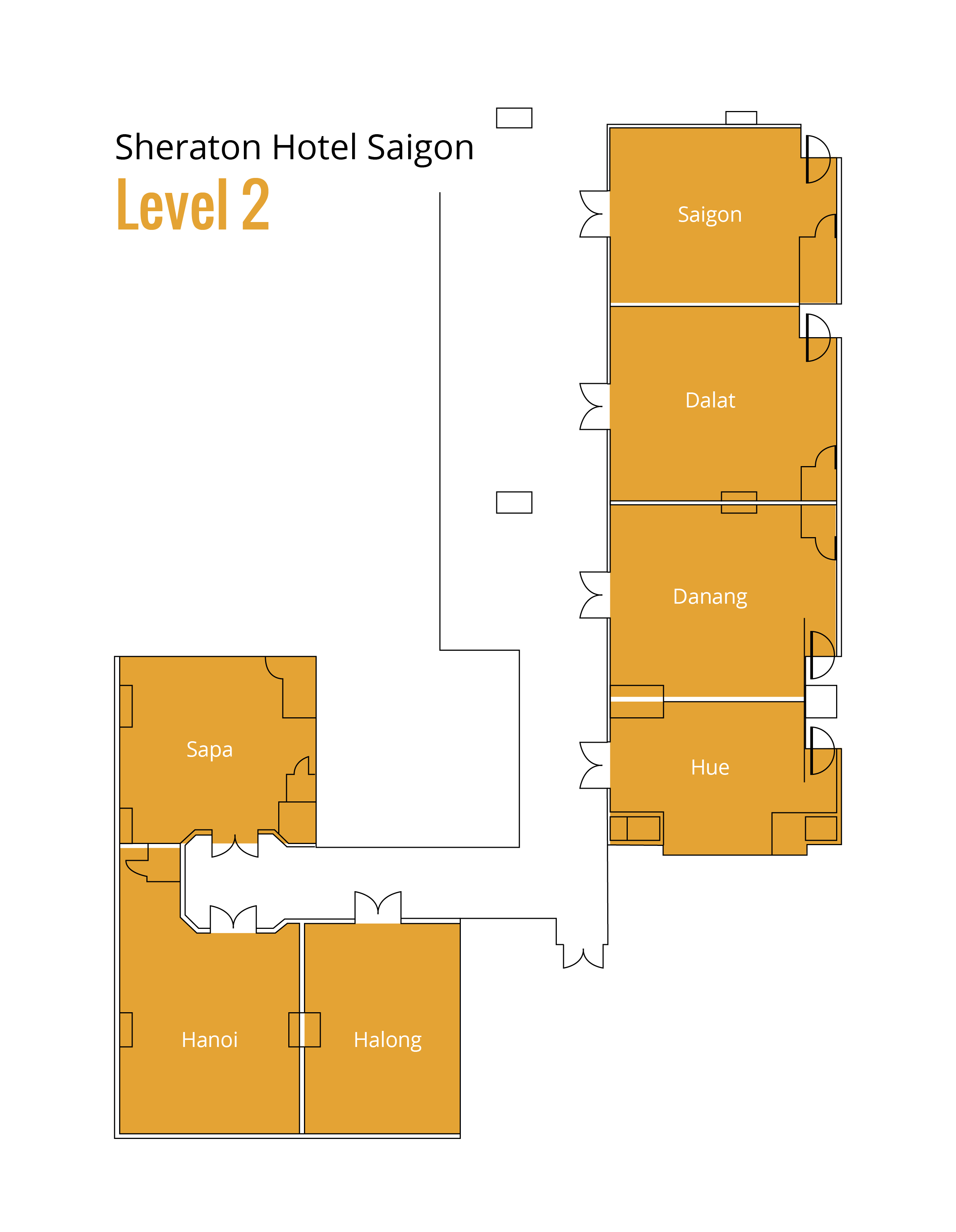APRICOT 2017 Floorplan Level 2