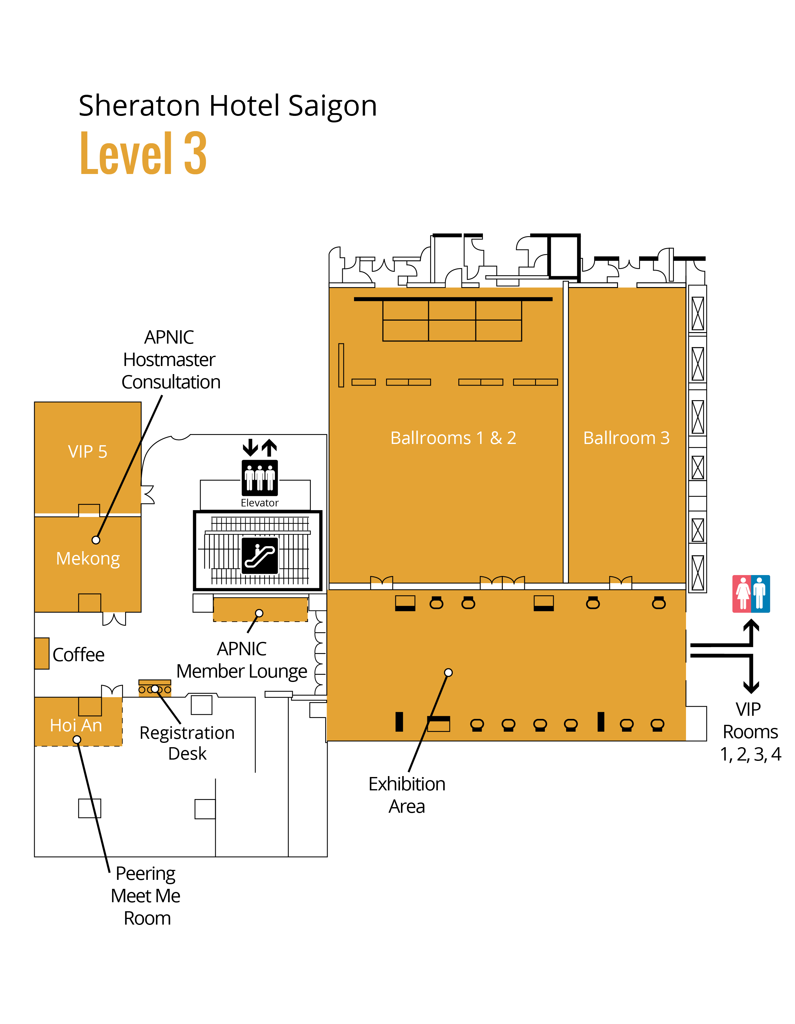 APRICOT 2017 Floorplan Level 3